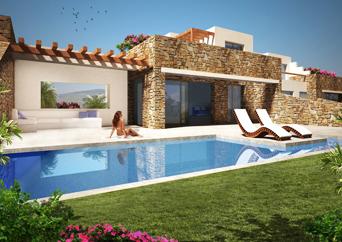 Naxos, les Villas de Lea